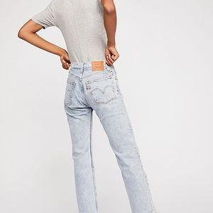 Levi's Jeans - NWT Levi's 501 Big E Original Cropped
